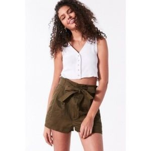 Urban Outfitters BDG  Paperbag Shorts- small